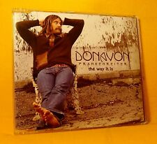 MAXI Single CD Donavon Frankenreiter The Way It Is 1TR 2006 Pop Rock PROMO !