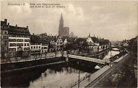 CPA Strassburg Vue prise du Quai St.Nicolas (429024)