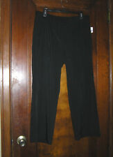 THE LIMITED BLACK CROPPED BOOT CUT DRESS PANTS SZ 12 0318