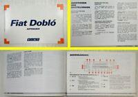 Fiat Doblo Autoradio Betriebsanleitung Bedienung 2001 Kassette CD