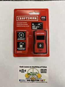 Craftsman (CMHT77721) 55' - RANGE Laser Distance Measurer w/ RECHARGEABLE BATT.