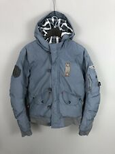 LEVI'S Quilted Bomber Jacket - Large - Blue - Great Condition - Men's
