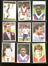 1987 Question of Sport BOOSTER Rugby Lot (12) Barnes Holding Berbezier Sella