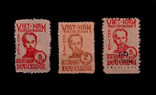 VIET-NAM du NORD (*) n° 60/62 / EMIS SANS GOMME / SIGNES CALVES / TTBE