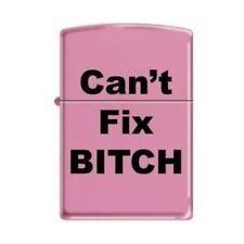 Zippo Lighter - Can't Fix Bitch Pink Matte - 853221