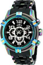 Invicta 25769 Bolt Men's 51mm Stainless Steel Rainbow Black Dial Watch