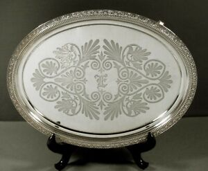 Tiffany Sterling Tray               c1860 CLASSICAL