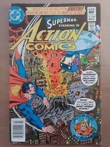 Action Comics #529 1 Comic Book Lot DC Superman