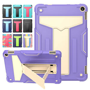 """For Amazon Fire HD 10 11th Gen 10.1"""" 2021 Shockproof Military Stand Case Cover"""