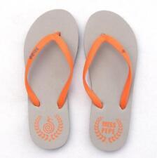 Womens Mens Flip Flops Flats Platform Summer Sandals Surf Beach Shoes Plus Size