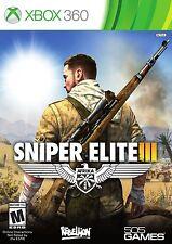 NEW Sniper Elite III 3 (Microsoft Xbox 360) Afrika