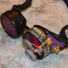 Steampunk Goggles Gothic Victorian Cyber Welding Sunglasses Cosplay Rave