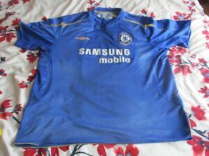 Chelsea Centenary Home Shirt 2005-06 xxxl