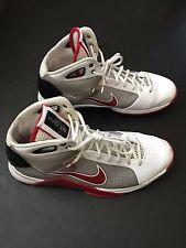 Mens 2008 Nike Hyperdunk Red and White Size 12 OG 324820-168