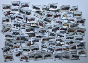 Trade Cards - Motor Cars (D.C. Thomson) - 111 Cards
