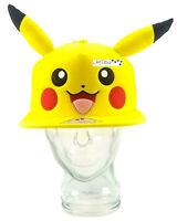 Pokemon Pikachu Snapback Adjustable Trucker Hat Cap