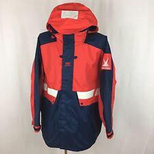 DVT1 Men's Helly Hansen Professional Sailing Waterproof Hooded Jacket Size XL Pe