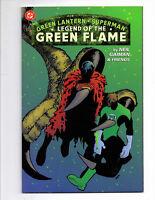 GREEN LANTERN SUPERMAN LEGEND OF THE FLAME TPB 1ST PRINT RARE NEIL GAIMAN WOW