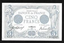 France Paper Money - Old Five Francs Note - 1916 - P70 - VF+/XF