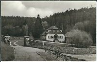 Ansichtskarte Bad Klosterlausnitz - Meuschkensmühle im Mühltal - schwarz/weiß