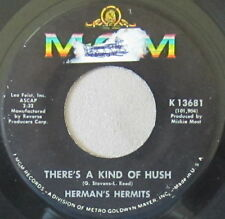 Herman's Hermits – There's A Kind Of Hush / No Milk Today, Vinyl, 45rpm, 1967 VG