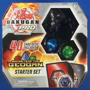 Bakugan Pro Darkus Falcron Ultra Geogan Rising Starter Set