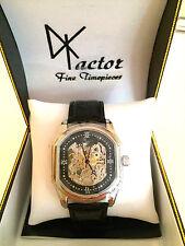 "FACTOR TIMEPIECES ""NEW YORK"" Mens Ltd Ed Skeleton Automatic Watch Retails @ $3K"