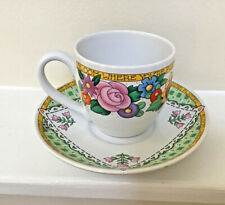 Mary Engelbreit Tea Cup And Saucer Bloom Where You're Planted