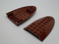 Lego Flugzeug, 2 Bausteine Aircraft braun Zubehör, Oberteil, Top, Größe 6x10 Neu