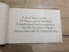 More details for religious antique manuscript christianity original latin english victorian album