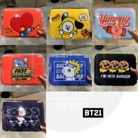 "BTS BT21 Official Authentic Goods 13"" Laptop Sleeve BITE Ver + Tracking Num"