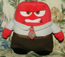 """6"""" Disney Pixar Collection Inside Out ANGER Small Red Stuffed Animal Plush Toy"""