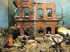 WWII German Ruin 1 35 Ultimate Soldier 1 32 Forces of Valor Building Panzer 54mm