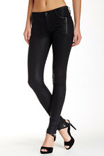 Joe's Jeans 'Rollin' Zip Pocket Skinny Jean Jet Black 32 NWT $198