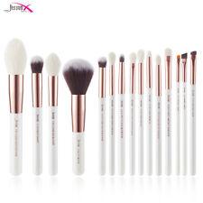 Jessup T222 15-Piece Professional Make-Up Brushes Set - White/Rosegold