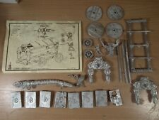 EXTREMELY RARE WARHAMMER CITADEL CHAOS WAR ALTAR COMPLETE SET UNPAINTED