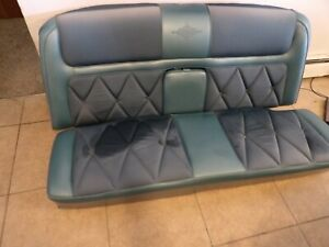 1969 Lincoln Continental Mark III Coupe ORIGINAL BLUE REAR SEAT