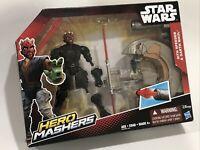 "2015 Star Wars Hero Mashers Sith Speeder & Darth Maul 5-1/2"" Action Figure"