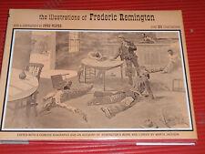 VINTAGE ART  BOOK FREDERICK REMINGTON DRAWINGS