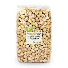 Pistachio Nuts Jumbo, Salted 1kg | Buy Whole Foods Online | Free UK Mainland P&P