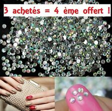 1000× Strass 3D Style Diamant Crystal nail art déco ongle  BRILLANT 2mm