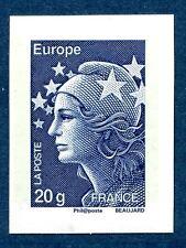 nouvelle variété 4567 Marianne de Beaujard tvp bleu 20g europe non dentelé