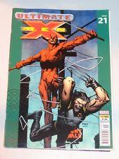 X-MEN ULTIMATE #21 10TH NOVEMBER 2004 UK MAGAZINE DAREDEVIL WOLVERINE<