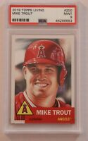 2019 Topps Living Set Mike Trout #200 PSA 9