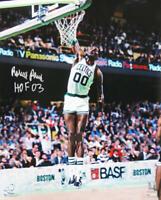 Robert Parish Signed Boston Celtics Dunk 16x20 Photo w/HOF'03 - SCHWARTZ COA