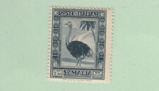 Italy 1935-38 SOMALIA PITTORICA 2^ EMISSIONE 2,55 ARDESIA  DENT. 14 n. 226 MNH**