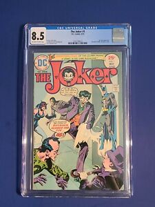 The Joker #1 🤡 CGC 8.0 VF 1975 O'Neil & Giordino DC 🔥 Batman not 227 251