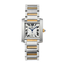 Rectangle Adult Solid Gold Strap Analog Wristwatches