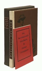 George Bernard Shaw: Man and Superman LIMITED EDITIONS CLUB (1962)