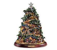 "Thomas Kinkade ""Glory to the Newborn King"" Nativity Tree"